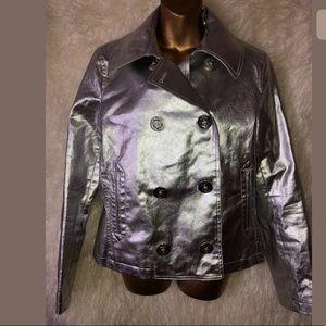 Ralph Lauren jeans co silver jacket size L new
